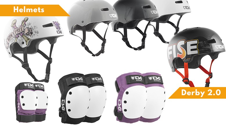 TSG protectives, 2017 line available at clic-n-roll shop